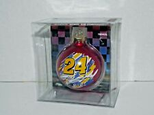 Winners Circle Nascar 2003 Jeff Gordon 24 Glass Ball Ornament New (p)