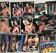 Japanese MMA K-1 1997 Bandai regular card set 196 cards