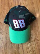 Dale JR. #88 NASCAR  Camouflage New ERA. Lime Green Visor
