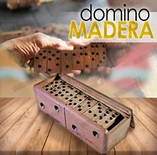 Game of dominoes  wooden  Double Six  handsmade   toys gift present Hobbies