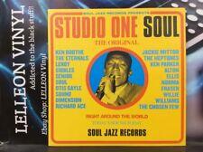 Studio One Soul Double LP Album Vinyl Record SJRLP50 A1/B1/C1/D1 Soul 70's