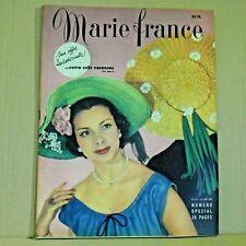 Marie France Magazine N° 237 - 13 Juin 1949 - Ancien Magazine Français