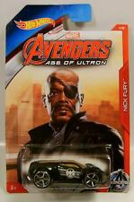 ULTRA RAGE NICK FURY MARVEL AVENGERS AGE OF ULTRON 1/8 HOT WHEELS HW DIECAST