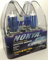 Vintage Nokya 9003 H4 Arctic White Light 55/65W Halogen Headlight Bulbs 4100K