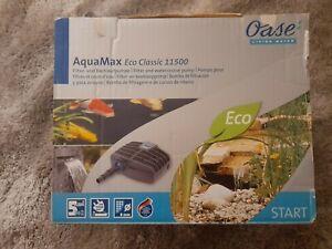 New Oase AquaMax Eco Classic 11500 Filter & Pond Pump