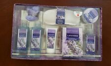 Lavendar Spa Gift Set 8 Piece Beaute Essentielle Kit with Bath / Body Products