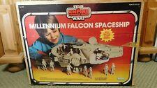 STAR WARS ESB MILLENNIUM FALCON W/ BOX 1979 ***WORKS***