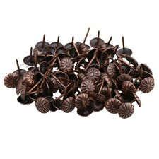 100x Iron Vintage Style Upholstery Nails Tacks Studs Furniture Decorative Pins