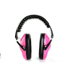 Kids Ear Muff EM-5005 Defenders Noise Comfort Reduction Earmuff Protection Pink
