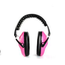 Kids Ear Muff EM-5005 Defenders Noise Comfort Reduction Earmuff Protection Pink