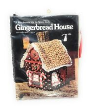 Patchwork Kit Gingerbread House Craft KIT - NEW