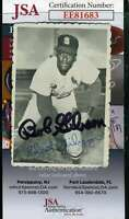 Bob Gibson 1969 Topps Deckle Jsa Coa Hand Signed Authentic Autograph