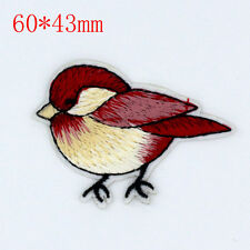 Lifelike Bird Design Embroidered Cloth Iron On Patches Sewing Motif Applique NEW