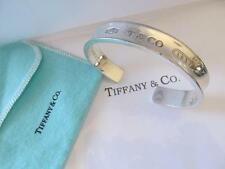 Tiffany & Co. 1837 Cuff Sterling Silver Bracelet ©1997