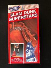 New, In Box Starting Lineup Slam Dunk Superstars Isiah Thomas-Detroit Pistons