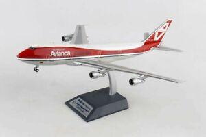 INFLIGHT 200 IF741AV001 1/200 AVIANCA COLOMBIA AIRLINES B747 REG: HK-2000 W/S