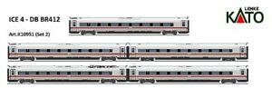KATO K10951-   ICE 4 – DB- BR 412-  5-tlg. Ergänzung -SpurN- neu