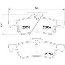 BREMBO Brake Pad Set, disc brake P 28 070