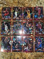 2019-20 Panini Prizm Red Ice (12) Lot -Holiday, Young, Drexler ++! All 12 New!
