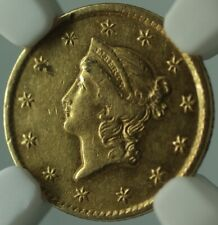 1854-D Dahlonega Mint Type I Gold $1 Dollar Coin NGC XF Details Cleaned