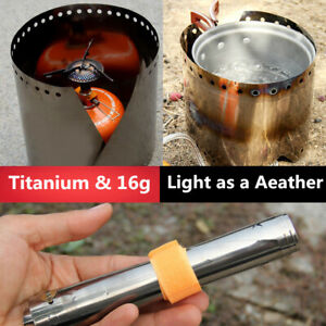 Ultra Light Titanium Outdoor Camping Stove Windshield Screen For Outdoor cooking