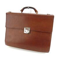 Salvatore Ferragamo Business bag Brown Woman unisex Authentic Used C2496