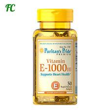 VITAMINA E 1000 IU 50 PERLAS - PURITAN´S - Antioxidante inmunologico  puritans