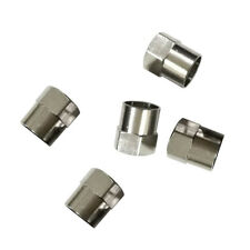 5Pcs Useful Car Chrome Tyre Tire Dust Caps Wheel Air Valve Stem Screw Cover Lid