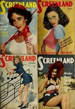 187 Old Issues Of Screenland - America Screen Magazine Vol.2 (1941-1960) On Dvd