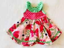"""Matilda Jane Doll Clothes Matches Good To Go Dress Fits 18"""" Doll Camp On Tour"""
