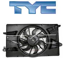 for Jeep Cherokee 2014-2018 TYC 623340 Dual Radiator & Condenser Fan