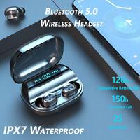 F9 BT5.0 Headset TWS Wireless Earphone Mini In-Ear Earbud Stereo Sport Headphone