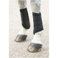 Shires Arma Neoprene Brushing Boots in Black