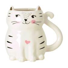 Kaffeebecher Katze Tasse Kätzchen Kaffeetasse Becher Teetasse Katzenlady süß