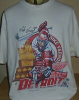 Vintage 1997 Detroit Red Wings  NHL Stanley Cup hockey t shirt X-Large