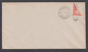 Mexico Sc 358 bisect on 1914 cover, 10 JUL 14 Guaymas favor cancel, unaddressed