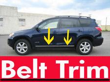 Toyota Rav4 Rav 4 Chrome Side Belt Trim Door Molding 06 07 2008 2009 2010-2012