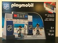 Playmobil NHL 9016 Anzeigetafel mit 2 Schiedsrichter NEU & OVP !!!