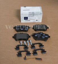 NEW Mercedes W222 S-Class Genuine Rear Brake Pad Set S550 MAYBACH S550e + SENSOR