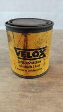Boite VELOX ancienne/collection cyclo automobilia bidon/garage vintage