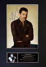 Freddie Mercury - Queen *RARE* Signature/Autographed Photograph - Museum Grade