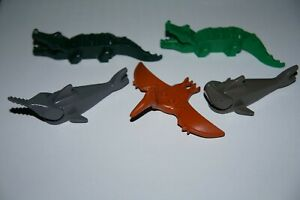 LEGO 5 ANIMALS,2xSHARK,2xCROCODILE+PTERODON No 2547,6026,30478