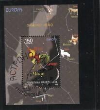 Europa Cept 2009 Mazedonien Block gestempelt