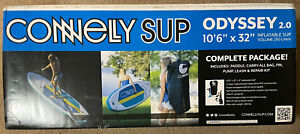 """CONNELLY SUP ODYSSEY 2.0 10'6"""" x 32""""  COMPLETE PACKAGE!"""