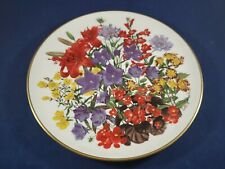 Franklin Mint Royal Horticultural Society Flowers of the Year plate July
