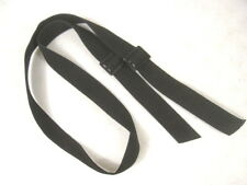 """US Army Issued Black Nylon Rifle """"Silent"""" Sling w/Buckles 1 1/4"""" Wide"""