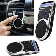 Wireless Bluetooth VIVAVOCE ALTOPARLANTE CELLULARE auto KIT sole Visiera Clip IT