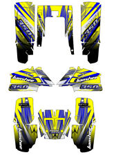 Graphics Custom Decal Sticker Kit Compatible Fit with Yamaha Banshee 350.NOT OEM
