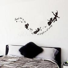 Campanellino Second Stelle A Destra Peter Pan Sticker Adesivi Murali Decal