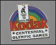 More details for olympic games atlanta 1996 - kodak -tie- lapel pin - badge (21-c)